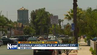 Sidewalk lawsuits could cost San Diego millions more - Video