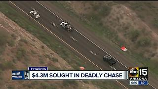 Family of chase suspect killed now seeking millions from DPS - Video