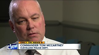 Commander retires after career with Cleveland police