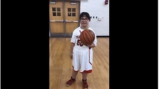 Teen With Down Syndrome Finally Gets A Chance To Play In Her First Basketball Game - Video