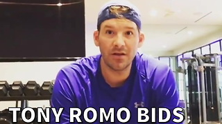 Tony Romo Bids The Cowboys Goodbye - Video