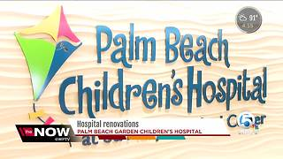 Hospital renovations at Palm Beach Children's Hospital