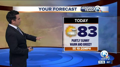 South Florida Wednesday afternoon forecast (2/20/19)
