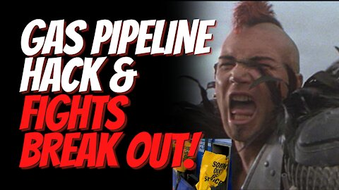 Cyberattack on Gas Pipeline Causing Shortages, Long Lines at The Pump and Fights Between Customers!