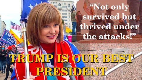 Americans Say! Not Only Survived But Thrived Under The Attacks | Washington DC | 2020-12-12