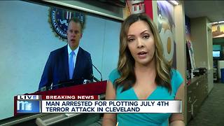 Man arrested for plotting July 4th terror attack - Video