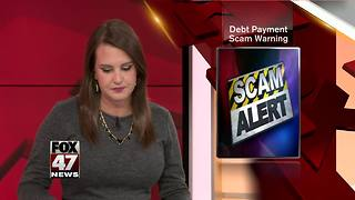 Treasury Department warns of debt payment scam - Video
