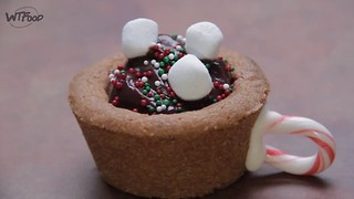 Hot Cocoa Cookie Cups - Video