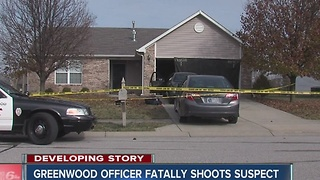 Greenwood police officer shot and killed man who allegedly stabbed his girlfriend - Video