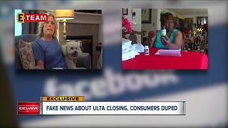 Are Ulta stores closing and giving away makeup? - Video