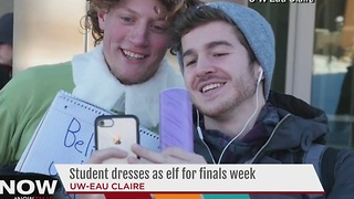 Student dresses as