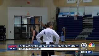 Keiser Taking Part in 'We Back Pat' Night - Video