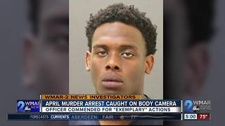 April Murder Arrest Caught on Body Camera