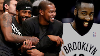 James Harden Likely To Complete Nets' Big Three With Kevin Durant & Kyrie Irving Next Season