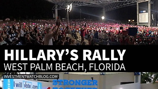 The Brutal Truth About The Difference Between Hillary's Rallies and Donald Trump's Rallies - Video