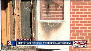 North Tulsa fire just before Christmas being investigated as intentional