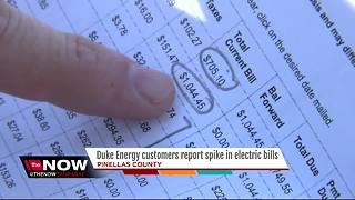 Homeowners concerned over 'sky high' Duke Energy bills - Video