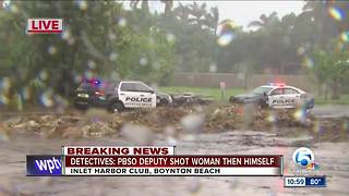 PBSO deputy kills self, shoots woman in Boynton Beach
