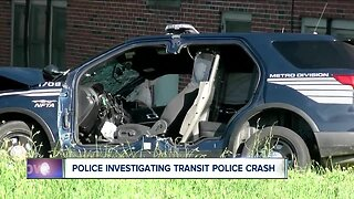 Investigation continues into Transit Police crash