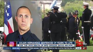 Convicted cop killer sentenced to 31 years to life - Video