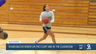 Roger Bacon senior Kylee Sheppard is a leader in two sports this school year