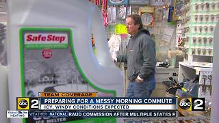Navigating your way through a snowy morning commute - Video
