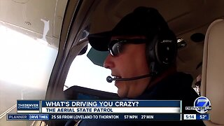 What's Driving You Crazy? Viewer wants to know about Colorado State Patrol aerial unit