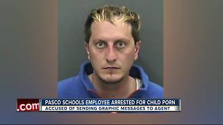 Pasco Schools employee arrested for child porn in undercover online bust - Video