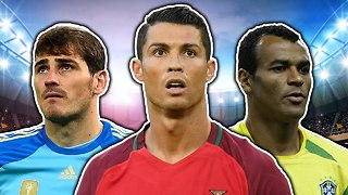 Most Capped Footballers XI | Ronaldo, Casillas & Zanetti - Video