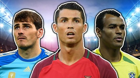 Most Capped Footballers XI | Ronaldo, Casillas & Zanetti