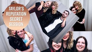 Taylor Swift hosted 100 London fans at her house - Video