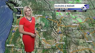 Temperatures rise for Sunday, conditions stay dry - Video