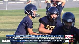 Generals' locker room gets a facelift with team looking to bring a pride back to Shafter - Video