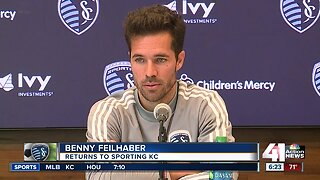Sporting KC trades for Benny Feilhaber as injury woes mount