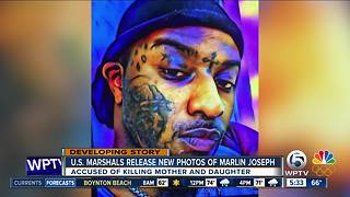 U.S. marshals release new photos of double murder suspect - Video