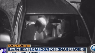 15 cars burglarized in Lake Clarke Shores - Video