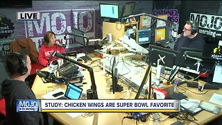 Mojo in the Morning: Chicken wings are Super Bowl favorite