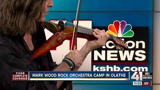 Mark Wood Rock Orchestra Camp happening in Olathe
