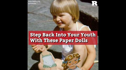 Step Back Into Your Youth With These Paper Dolls