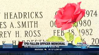 Tucson Police Fallen Officers Memorial - Video