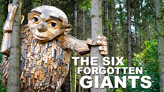 The Six Forgotten Giants - Recycle Sculpture Treasure Hunt - Video