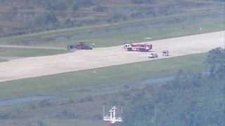 Chopper makes hard landing at Sikorsky - Video