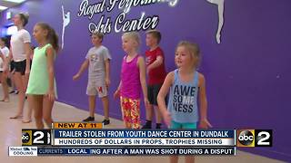 Trailer stolen from Dundalk dance center - Video