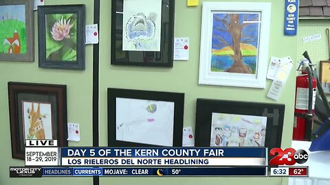 Local artists making impact at the Kern County Fair