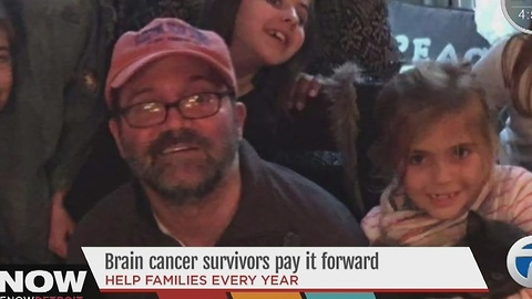 Humane Group Of Brain Cancer Survivors Pays It Forward