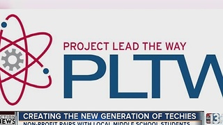 Project lead the way helps build new generation of techies - Video