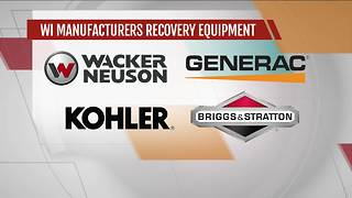 Local company makes generators, water pumps for Harvey relief - Video