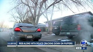 Police cracking down on puffers - Video
