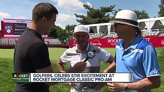 Catching up with Rickie Fowler and Kid Rock at Rocket Mortgage Classic Pro-Am