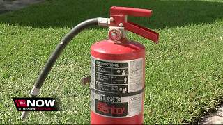 More than 40M fire extinguishers that may not work recalled after death reported - Video
